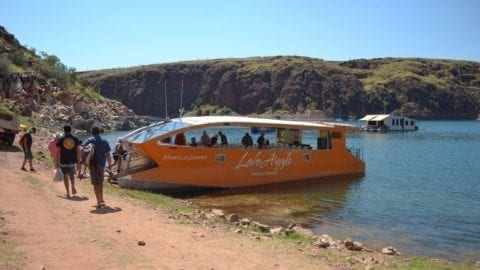Lake Argyle, Kimberley Durack Lunch Cruise