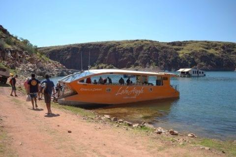 Lake Argyle, Kimberley Durack Lunch Cruise