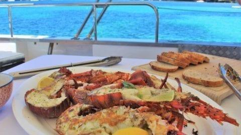 Rottnest Cruises' Wild Seafood Experience