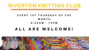 Riverton knitting club