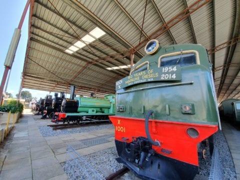 The Western Australian Rail Transport Museum Bassendean