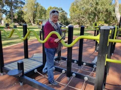 Senior Park at Neil McDougall Park, Como