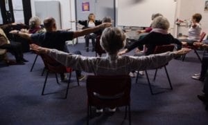 Come and Try for Over 55s Chair Yoga