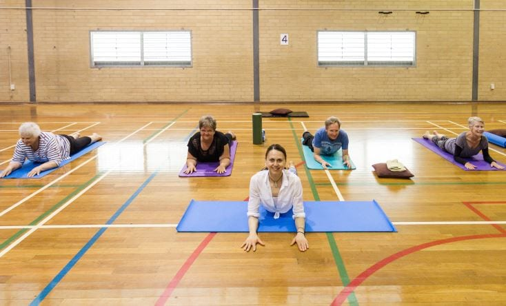 Hatha Yoga for Over 55s