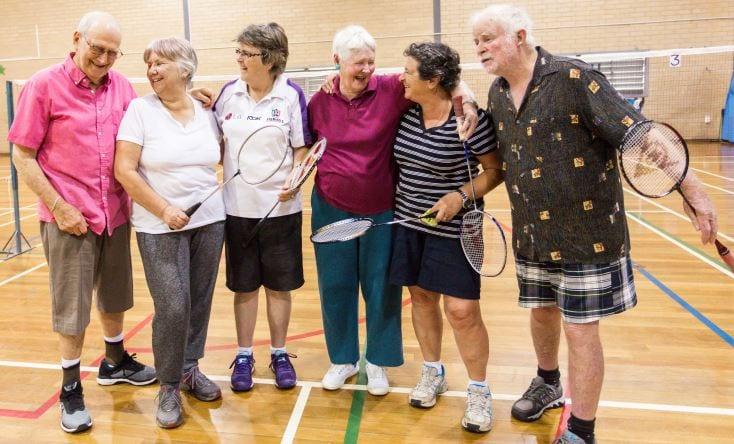 Seniors Badminton