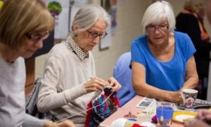 Social Group Knitting and Crochet Circle
