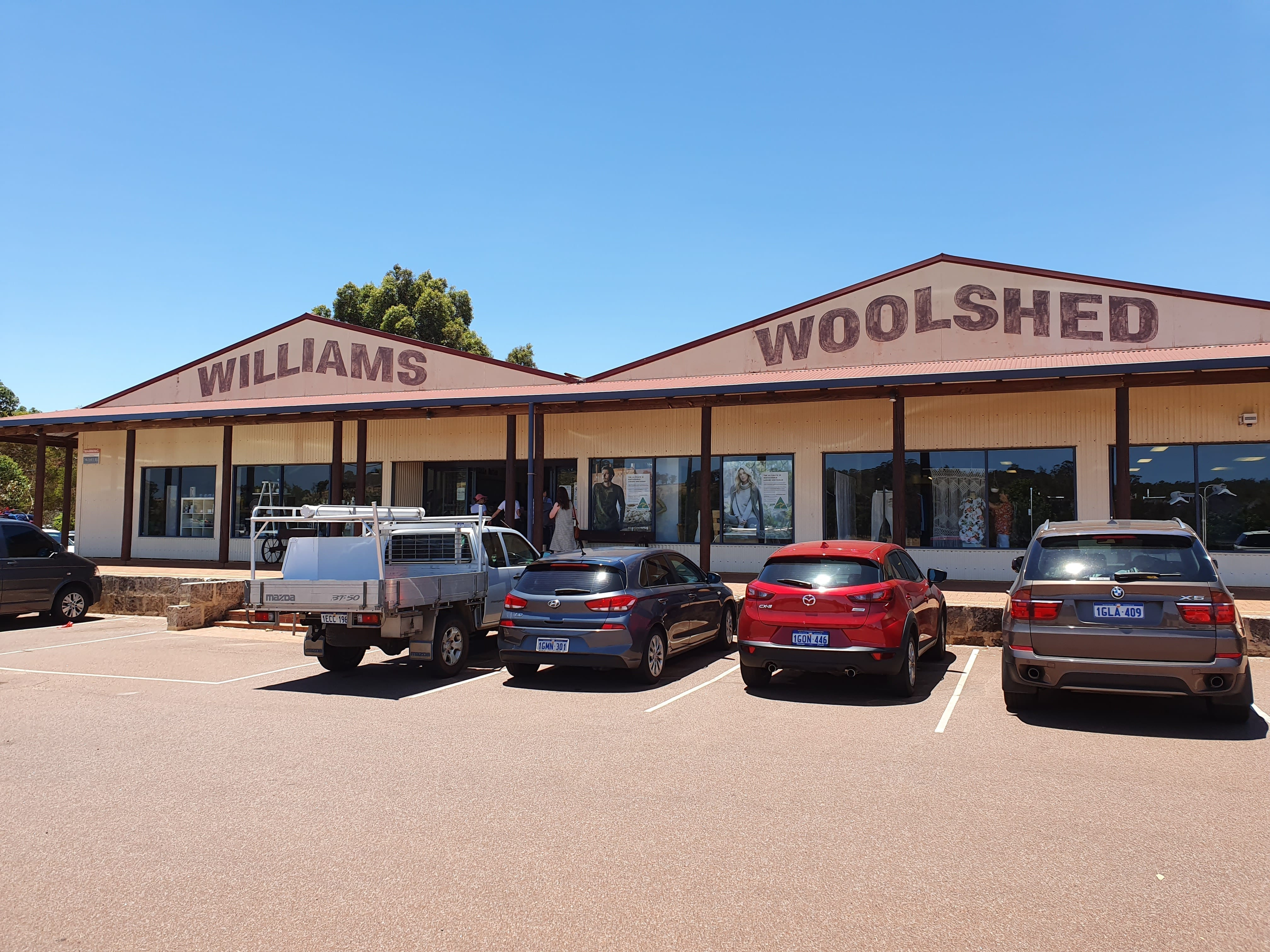 Williams Woolshed